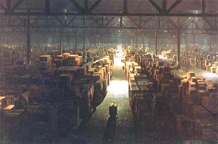 indiana jones warehouse