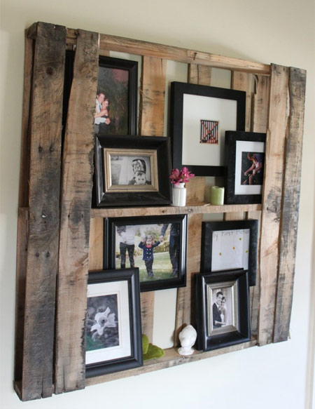 wood pallet uses - shelf 2