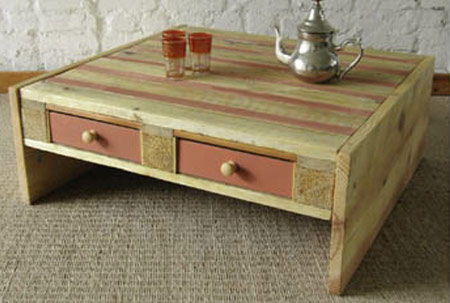 wood pallet uses - table