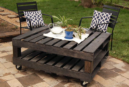 wood pallet uses - table 2