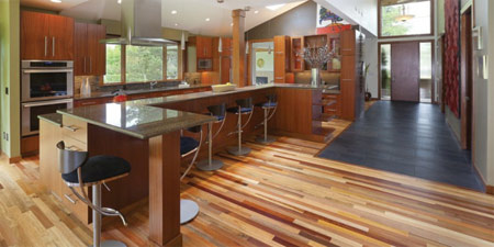 wood pallet uses - flooring
