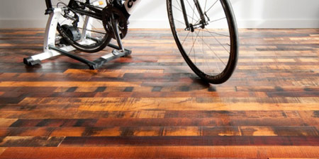 wood pallet uses - flooring 2