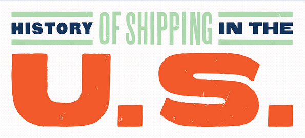 the history of shipping in the united states