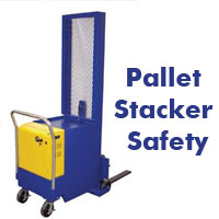 Material Handling Video Friday: Pallet Stacker Safety