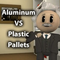 Material Handling Video Friday: Aluminum Pallets vs Plastic Pallets