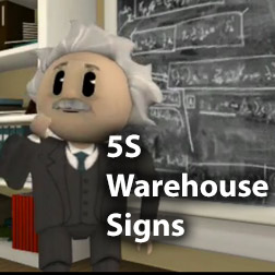 Guide to 5S Warehouse Signs