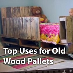 Top Uses for Old Pallets