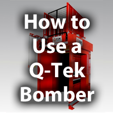 How to Use a Q-Tek Bomber Case Stacker