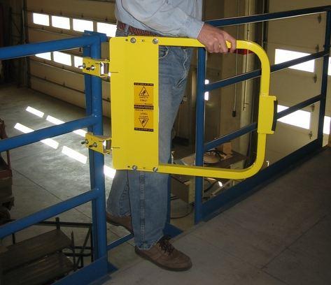 warehouse safety gates