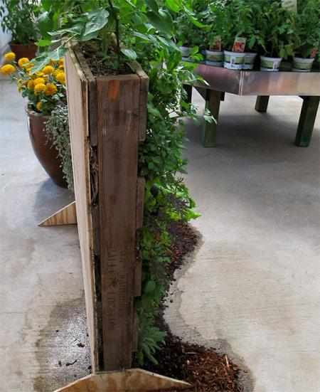 wood pallet uses - garden 2
