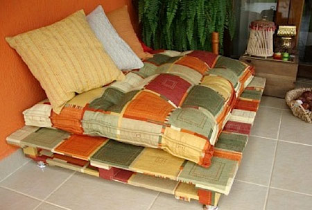 wood pallet uses - couch 2