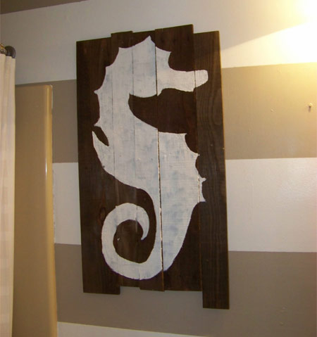 wood pallet uses - art