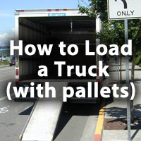 Warehouse Safety Tips: How to Load a Truck With Pallets