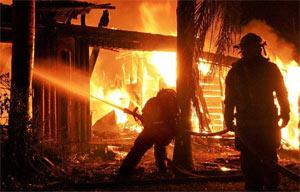 warehouse hazards - fire