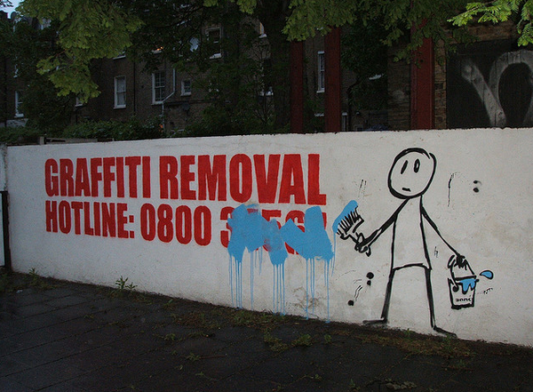 Ridiculous Signs Graffiti Removal