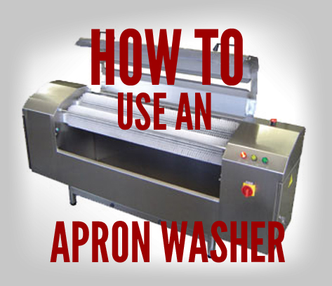 How to Use an Apron Washer