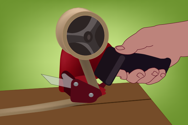 How to Use A Packing Tape Dispenser
