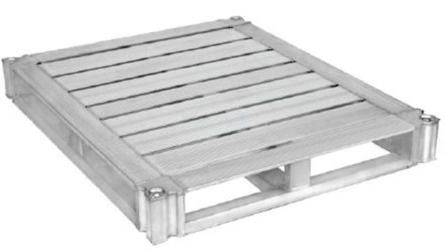 Revolutionizing aluminum pallet