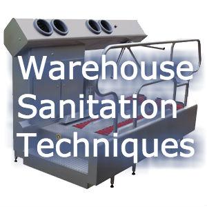 Warehouse Sanitation Techniques