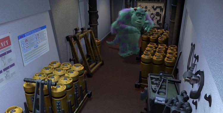 Warehouse Equipment In Monsters Inc Premier