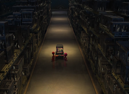Material Handling Equipment in Penguins of Madagascar